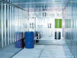 505868 Roosterstelling,  v. container voor gevaarlijke stoffen