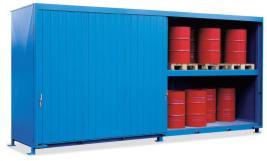 200344 Stellingcontainer V. Gevaarlijke Stoffen,  max. 40x200l vat