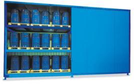 200370 Stellingcontainer V. Gevaarlijke Stoffen,  max. 48x200l vat