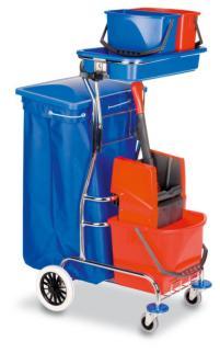 204624 Reinigingswagen,  emmer