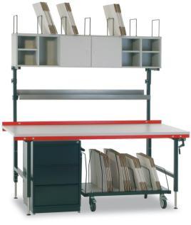 520937 Schuiflade-Onderbouw,  v. paktafel