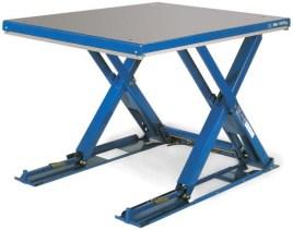 210787 Platte Schaarheftafel,  draagverm. 500kg