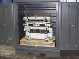 505303 Pe-Vatenkast,  HxBxD 1900x1500x1040mm