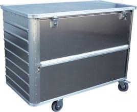 524632 Aluminium Bakwagen,  draagverm. 250kg
