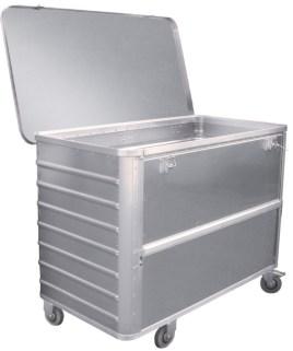 524638 Aluminium Bakwagen,  draagverm. 300kg