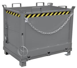 139846 Klapbodemcontainer,  HxLxB 845x840x1245mm