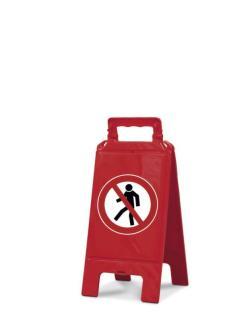 141939 Verbodsbord,  verboden voor voetgangers