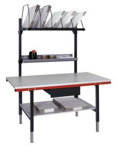 503231 Complete Paktafel,  HxBxD 690-960x1600x800mm