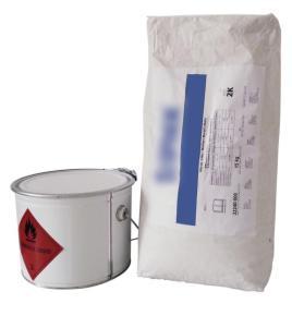 148926 Vloerreparatie, 5 kg bindmiddel/15 kg zand