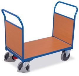 202992 Dubbele Kopwandwagens,  draagverm. 500kg