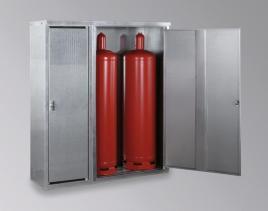 159950 Gasflessenkast,  v. 3x33 kg fles