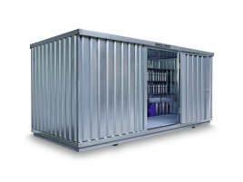 102527 Container Voor Gevaarlijke Stoffen,  v. aquatox. stoffen
