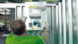 101218 Elektrisch Installatiepakket,  v. materiaalcontainer