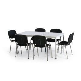 183612 Vergadermeubilair,  6 stoelen