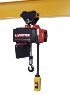213796 Elektrische Kettingtakel,  draagverm. 125 kg