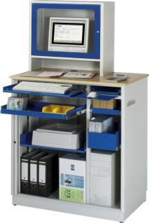 218616 Pc-Kast,  HxBxD 1810x1030x660mm