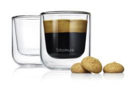 219583 Set Espressokopjes,  2 glazen