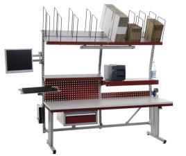 158929 Complete Paktafel,  HxBxD 690-960x2000x800mm