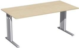145203 in hoogte verstelbaar bureau,  HxBxD 680-800x1600x800mm