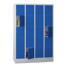 100921 lockerkast,  HxBxD 1850x1230x500mm