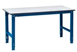 100834 ESD-montagetafel,  HxBxD 770-870x1500x800mm