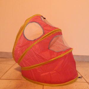 Katten tent tunnel roze