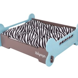 Ibiyaya pet bone bed green brown