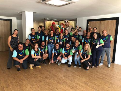 Treinamento de Transformação da Cultura para a Aviva no Rio Quente Resorts, GO.