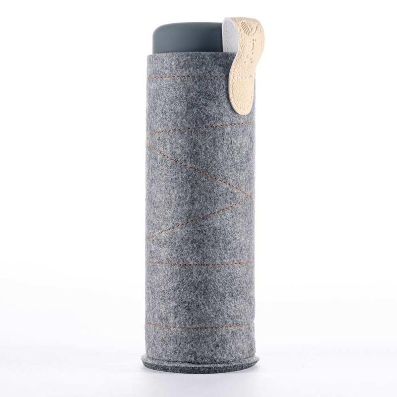 inu sleeve dark grey