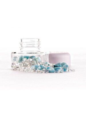 inu crystal jar larimar