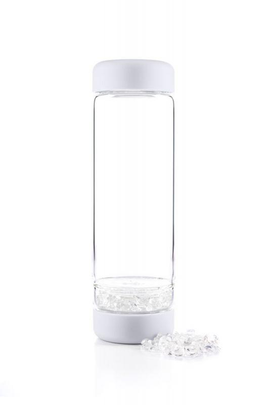 inu! glasflasche crystal cloud white