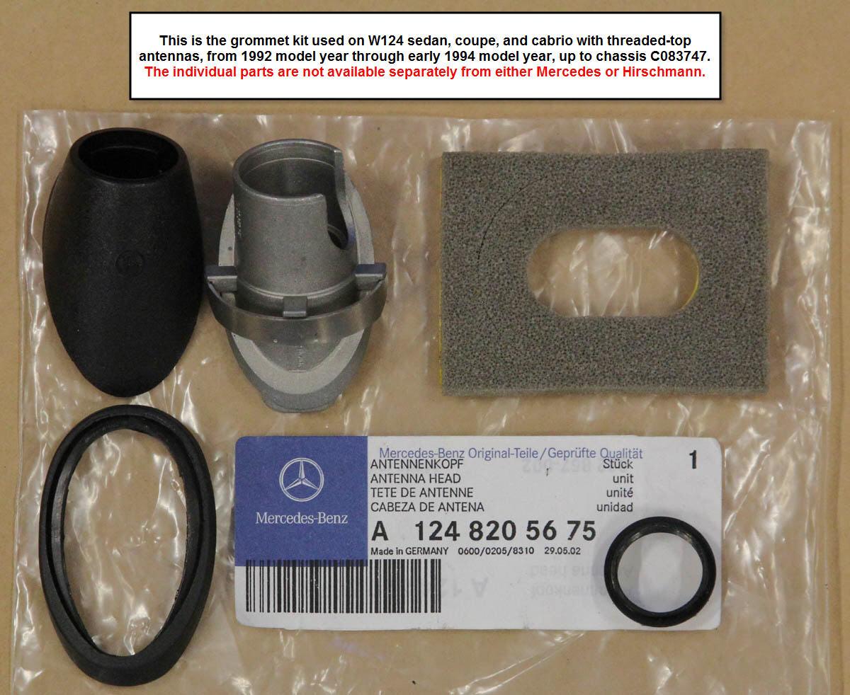 1994 Mercedes Benz Parts Rims