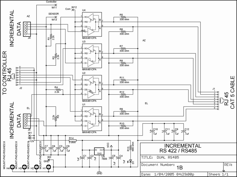 medium resolution of rs485 rh w2drz ramcoinc com ptz camera wiring rs485 ptz wiring diagram