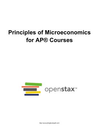 Principles of Microeconomics for AP Courses LR Book Free