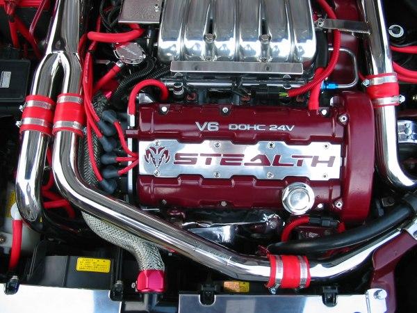 Engine Bay Pics Thread - 3000gt Stealth