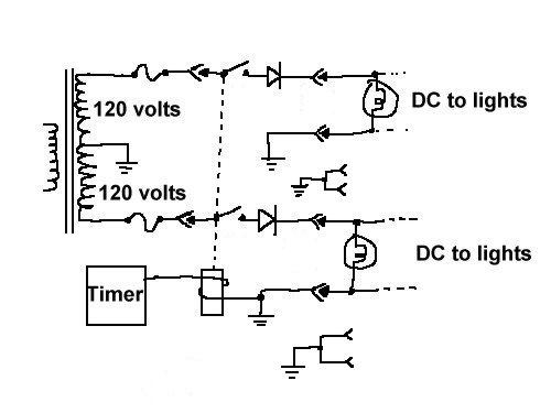 this is a simplified schematic of how a relay is wired into a load