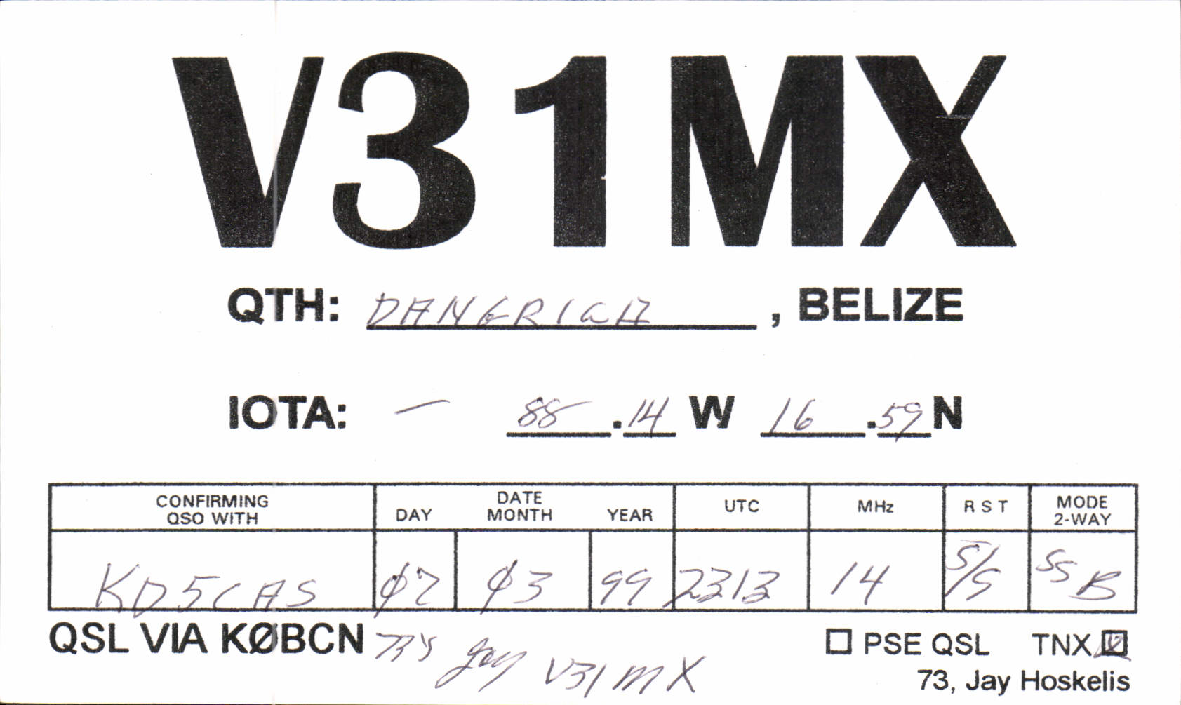 Received Dx Qsl Cards From North America Amateur Radio