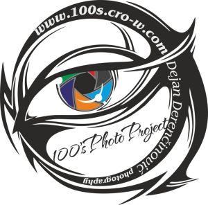 100s photo project portrait logo