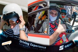 seat driving experience seat leon cup racer car jordie gene