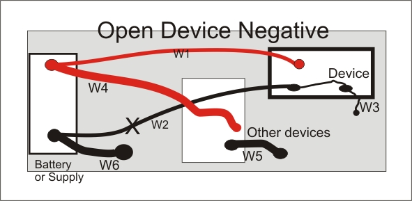battery relocation wiring diagram jeep grand cherokee stereo grounding negative system ground loop open connection