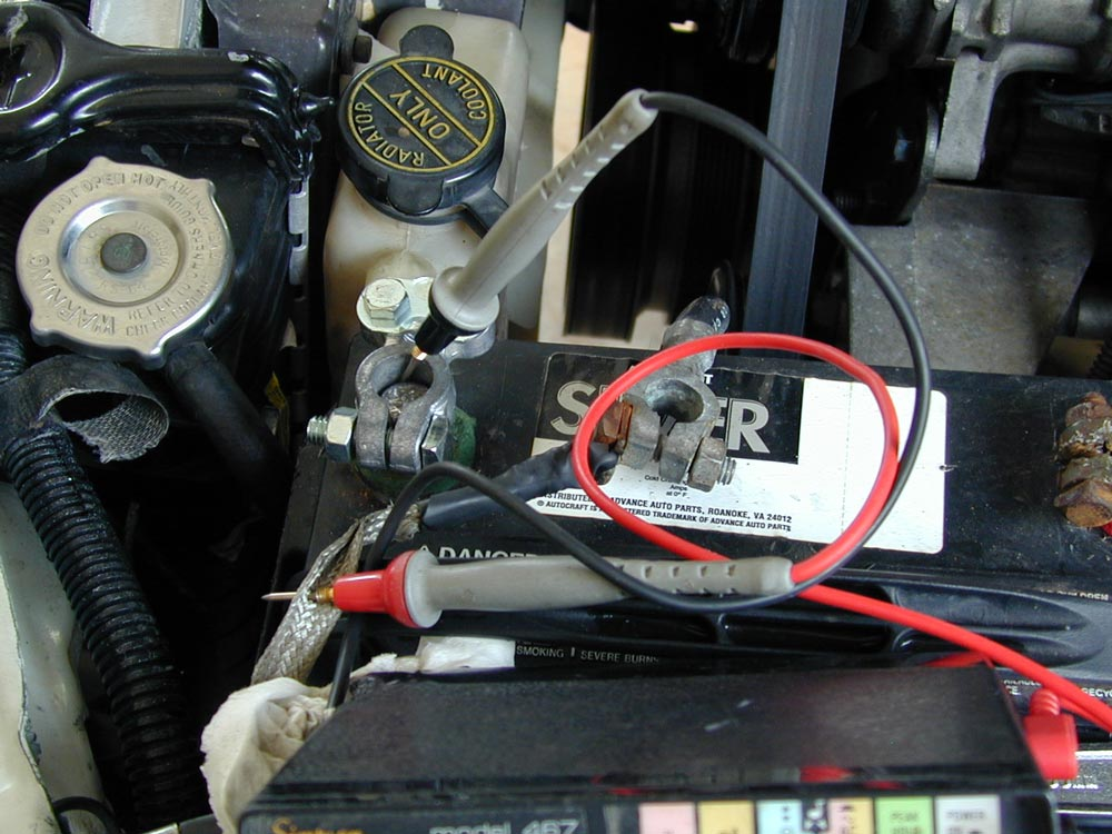 Amp Meter Wiring Diagram For Chevy Testing Battery And Charging System
