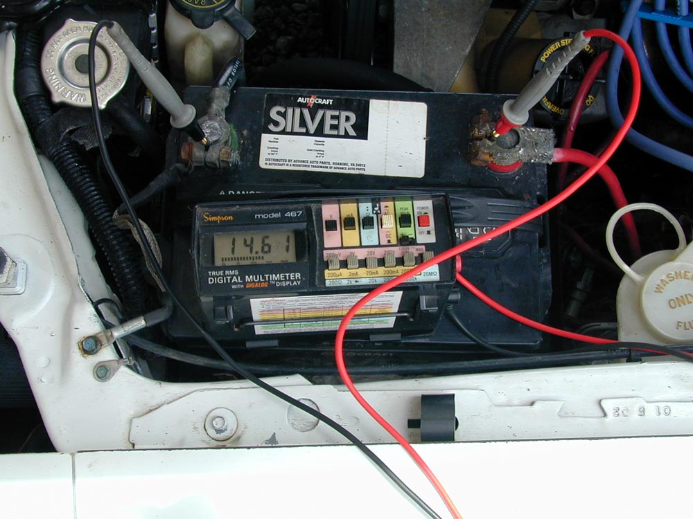 car charging system wiring diagram drag race testing battery and