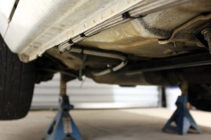 Foxbody Braided Fuel Line Routing  Ford Mustang Forums : Corral Mustang Forum