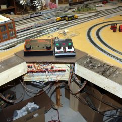 Dcc Model Railway Wiring Diagrams Water Well Diagram Ho Train Layouts Description Layout And Controls Turnouts Control Center