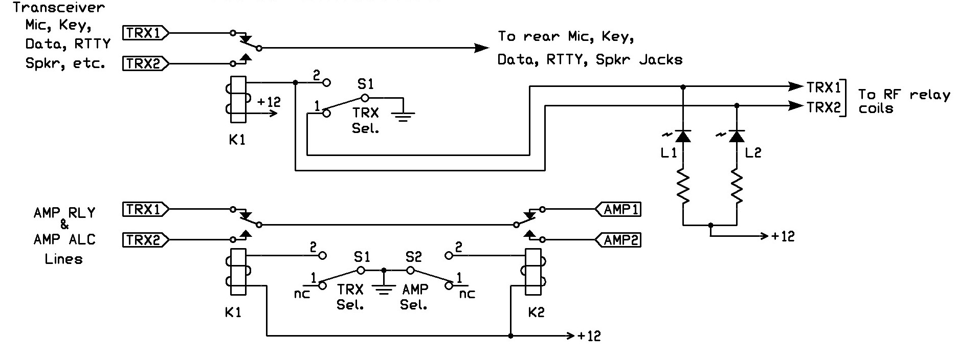 dpdt relay wiring diagram asm phase w8zr multicontroller technical description