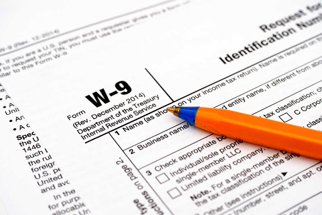 what is the purpose of form w-9 | and why are my customers asking