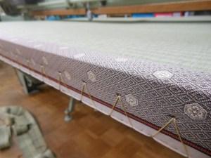 縁有り畳の側面