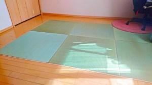 【和室のリフォーム】で琉球畳を施主支給された事例