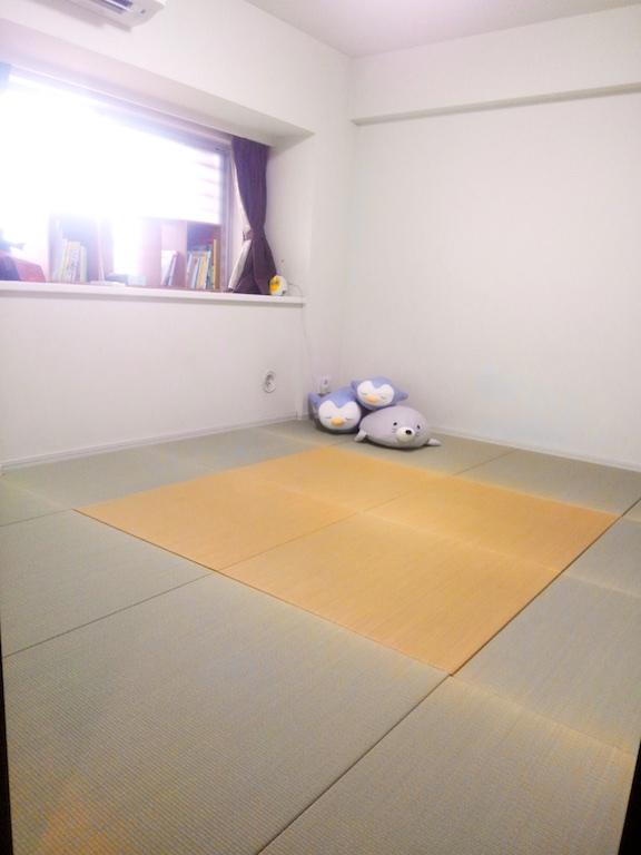 畳がぴったり入った部屋