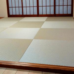 DIYで和室をリフォーム。美草市松リーフグリーンの琉球畳で明るい部屋に